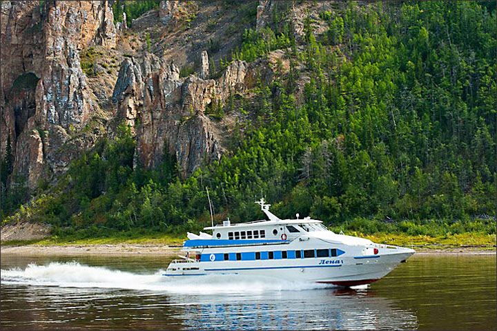 river Lena, river cruises in Russia, holiday in Yakutia