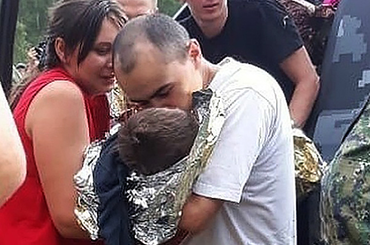 Miracle rescue of a toddler who went missing in a Siberian mire