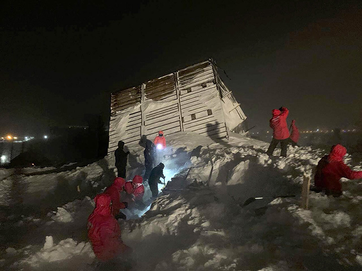 Mother of two reported dead, teenager badly injured after major avalanche hits ski resort near Norilsk