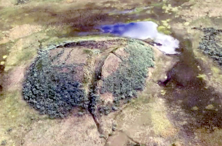 More than 300 sealed 'craters' are ticking time bombs from a total 7000-plus Arctic permafrost mounds