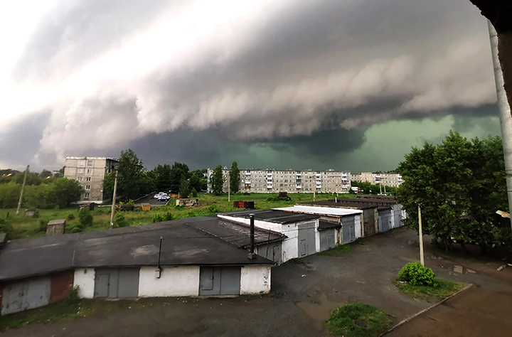 tornadoes and storms are new normal for Siberia